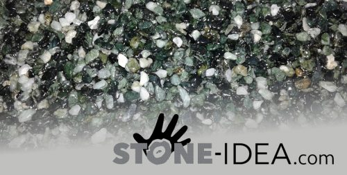 Polyurethane binder for stone carpet