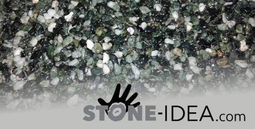 Epoxid bindemittel auf Steinteppich