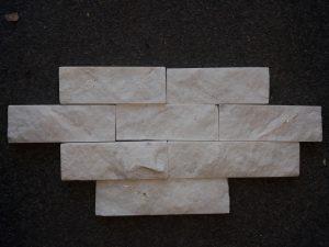 Obkladový pásek – Bílý mramor - 1