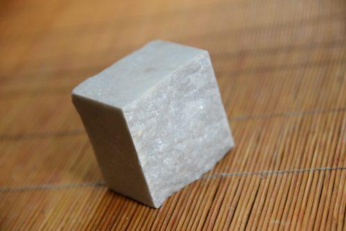 Paving block 6″silver