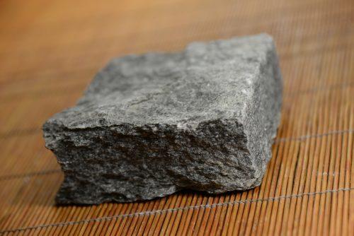 Dark grey marble cobblestone 10″