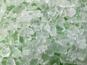 Decorative glass – clear 2-4mm - 4