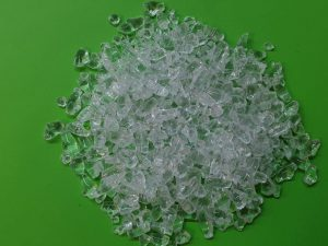 Decorative glass – clear 2-4mm - 3