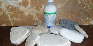 Sada kamínků a akrylového laku - Kamínky na malování